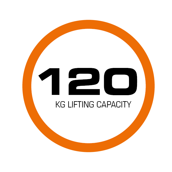 Der elektrische Treppensteiger CargoMaster C120 hat eine Hebeleistung von 120 kg