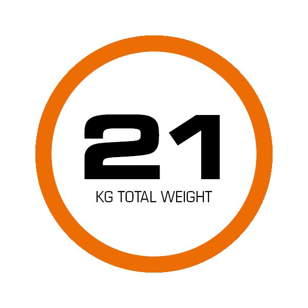 Der elektrische Treppensteiger CargoMaster C120 wiegt nur 21kg inklusive Akku-Pack